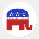Republican Elephant Stickers