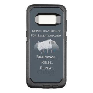 Republican 'Exceptionalism': Brainwash OtterBox Commuter Samsung Galaxy S8 Case