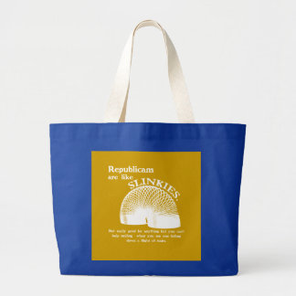Republican Falling Down the Stairs Tote Bag