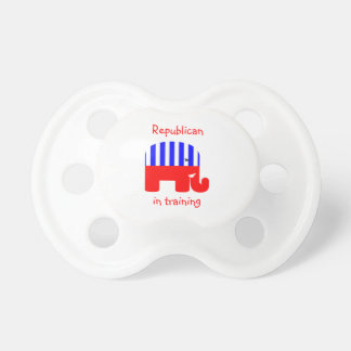 Republican In Training Pacifiers