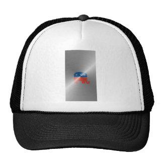 Republican Logo In Steel Hats