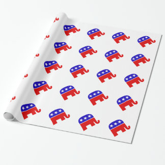 Republican Logo Wrapping Paper