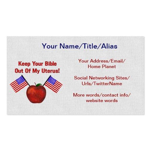 REPUBLICAN MOLESTORS BUSINESS CARD