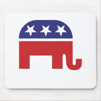 Republican Original Elephant Mouse Pad