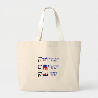 Republican Party Democratic Party Slumber Party Bags