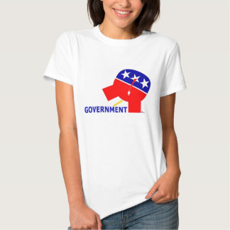 Republican Party Elephant Pissing On Government Shirt