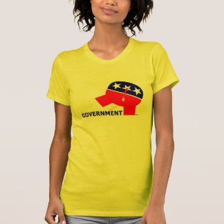 Republican Party Elephant Pissing On Government Tshirts