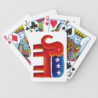 Republican Party Elephant Poker Deck
