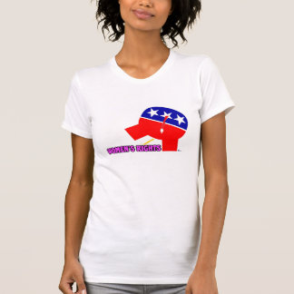 Republican Party Elephant Women's Rights T-shirts