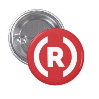 Republican Party Logo 3 Cm Round Badge