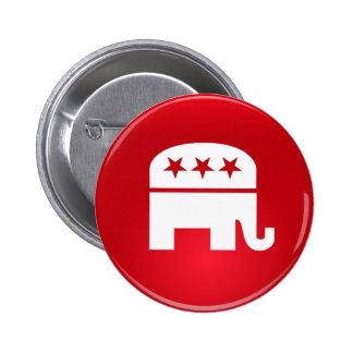 Republican Party Logo Pinback Button