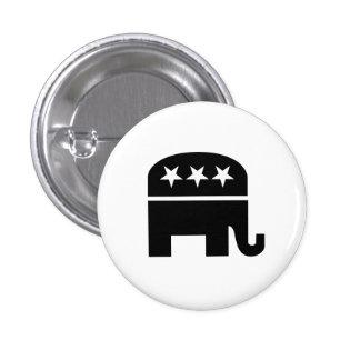 Republican Party Pictogram Button