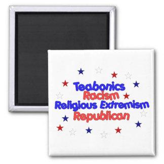 Republican Platform Square Magnet