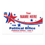 Republican Political Election Campaign Business Card