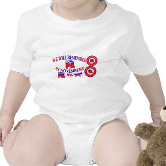 Republican Remember In November Anti ObamaCare Baby Bodysuit
