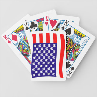 Republican Stars and Stripes Flag Bicycle Playing Cards