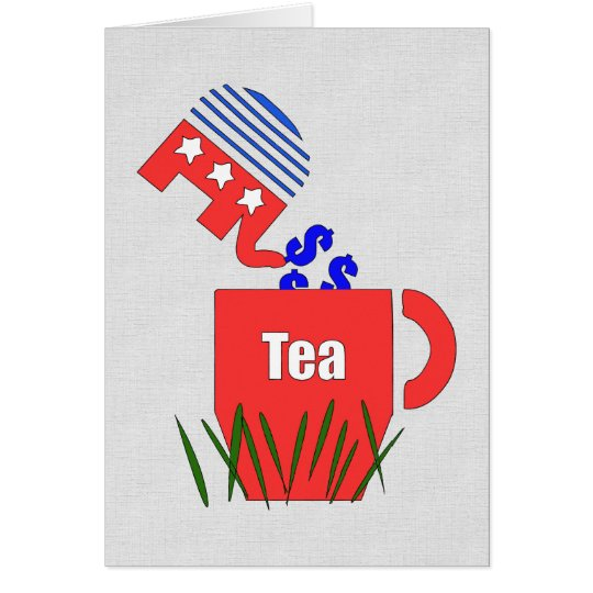 Republican Tea Card