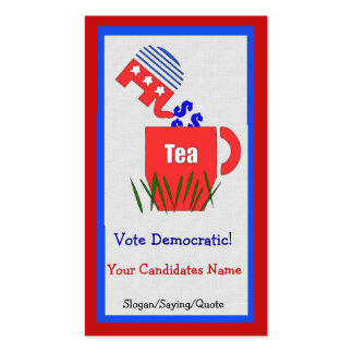 Republican Tea Pack Of Standard Business Cards