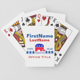 Republican Templates Playing Cards