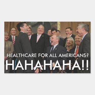 Republican Truth Rectangular Sticker
