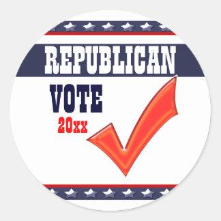 Republican vote President 20xx CUSTOMIZE Sticker