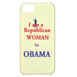 REPUBLICAN WOMAN iPhone 5C CASE