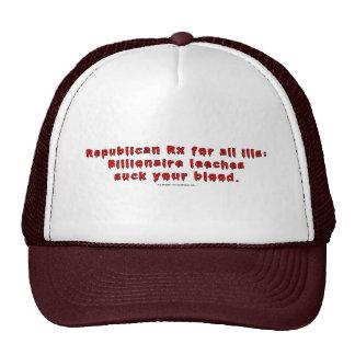 RepublicanLeeches Mesh Hats