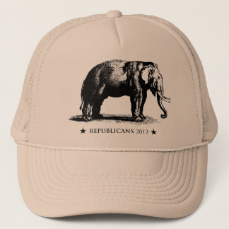 Republicans 2012 Vintage GOP Campaign Trucker Hat