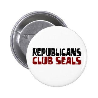 Republicans Club Seals Button