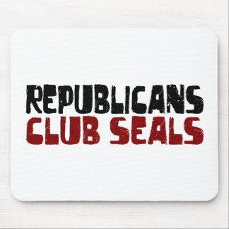 Republicans Club Seals Mouse Pad