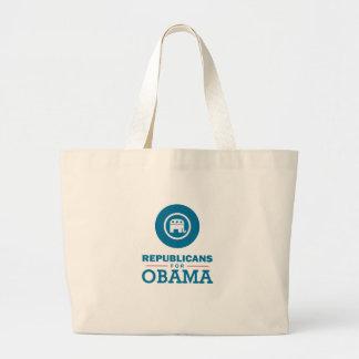 Republicans for Obama Bag