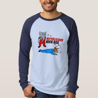Republicans kick asses t-shirts