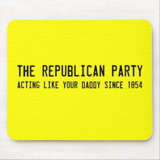 Republicans know what's best mouse pad