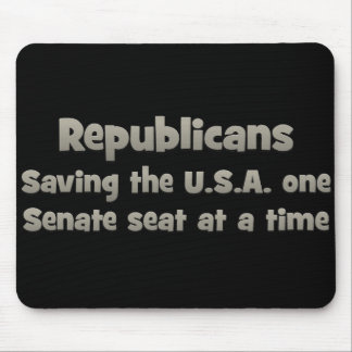 Republicans - Saving the country Mouse Pad