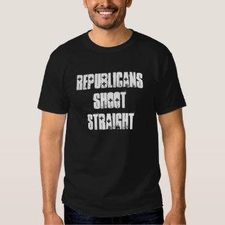 """Republicans Shoot Straight"" T-Shirt"