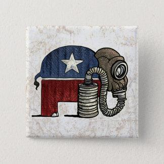 RepubliCAN'T Anti_GOP 15 Cm Square Badge