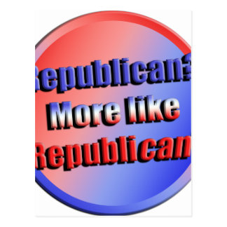 Republicant Postcard