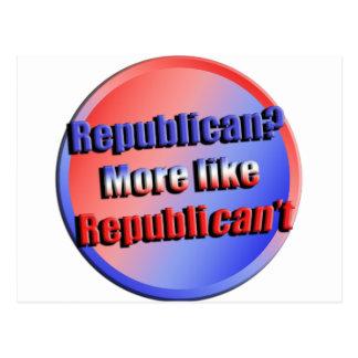 Republicant Postcard