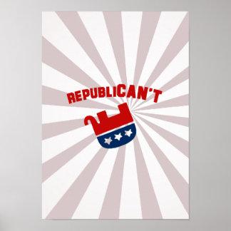 Republican't - poster
