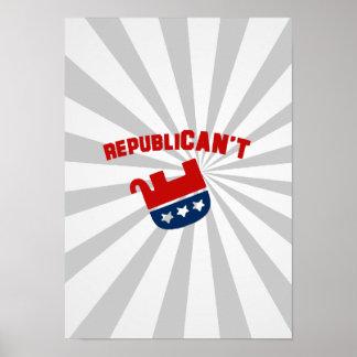 Republican't - print