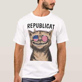 REPUBLICAT Funny Republican CAT T-shirts