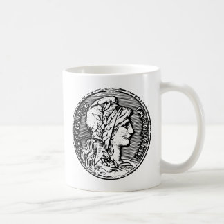 republique francaise French coin franc head Coffee Mug