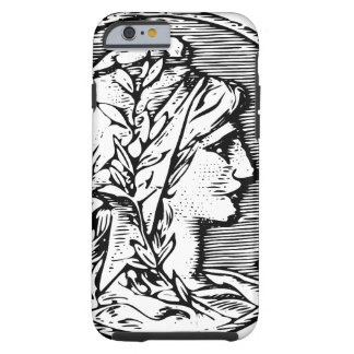 republique francaise French coin franc head Tough iPhone 6 Case