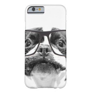 Reputable French Bulldog with Glasses Barely There iPhone 6 Case