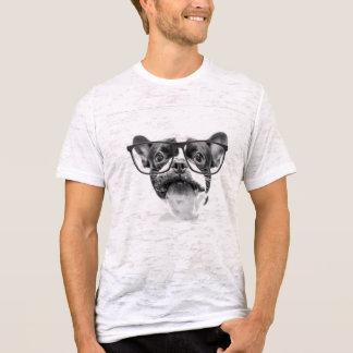 Reputable French Bulldog with Glasses T-Shirt
