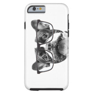 Reputable French Bulldog with Glasses Tough iPhone 6 Case