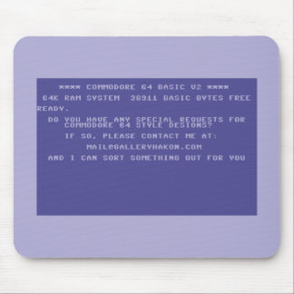 Request Your Custom Commodore 64 Design Mouse Pad