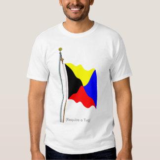 Require a Tug Zulu Signal Flag Shirt -