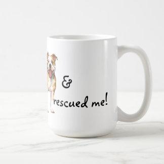 Rescue American Pit Bull Terrier Basic White Mug