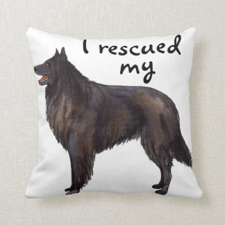 Rescue Belgian Sheepdog Cushion